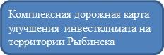 Комплексная дорожная карта улучшения инвестклимата на территории Рыбинска