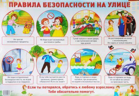 Детская безопасноть летом
