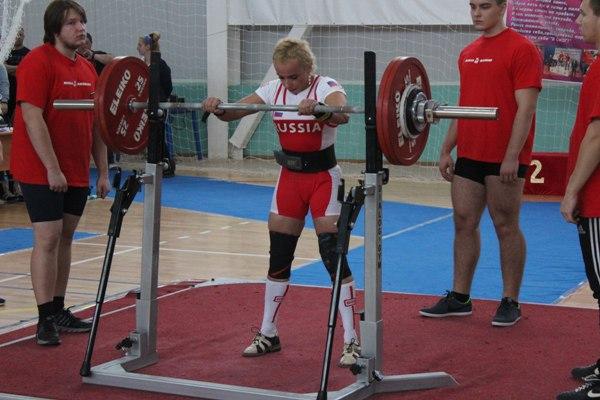 Кольцовцы стали победителями чемпионата Российской Федерации попауэрлифтингу