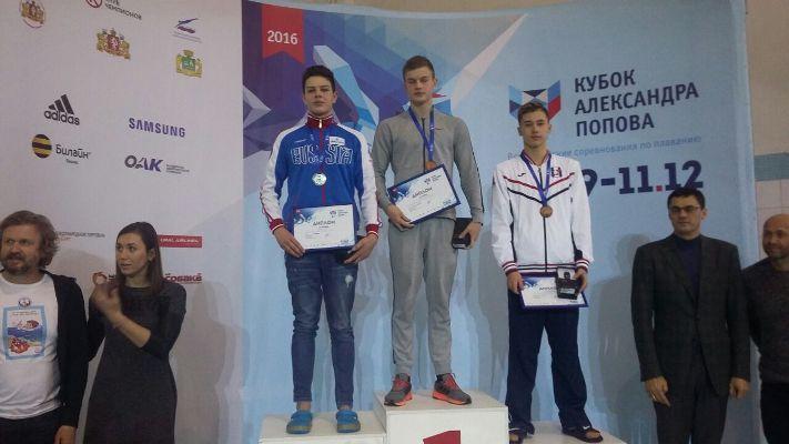 Рыбинские пловцы привезли медали с международных соревнований