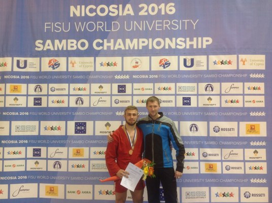 Самбистка изВладивостока одержала победу вчемпионате мира наКипре