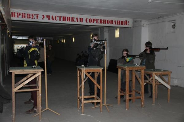 Первенство г.Рыбинска по пулевой стрельбе