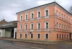 Здание бывшего начального училища