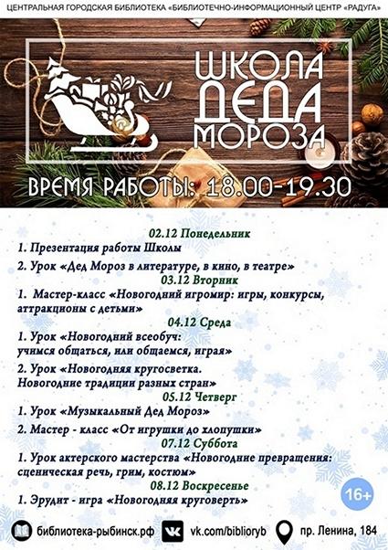 Программа «Школы Деда Мороза»