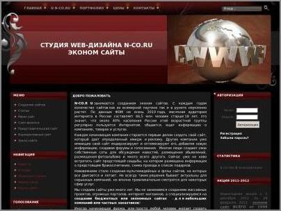 Студия WEB-дизайна «N-CO»