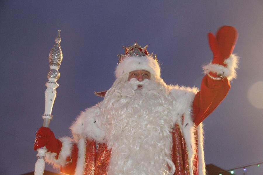 «Нашествие Дедов Морозов» принесёт реальные подарки