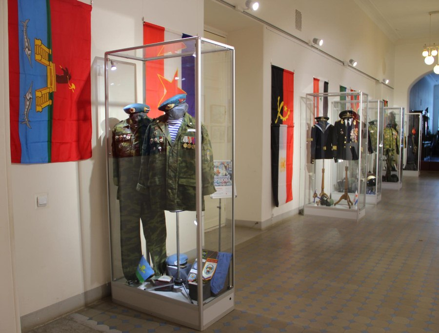 В ОКЦ откроют музей воинов-интернационалистов