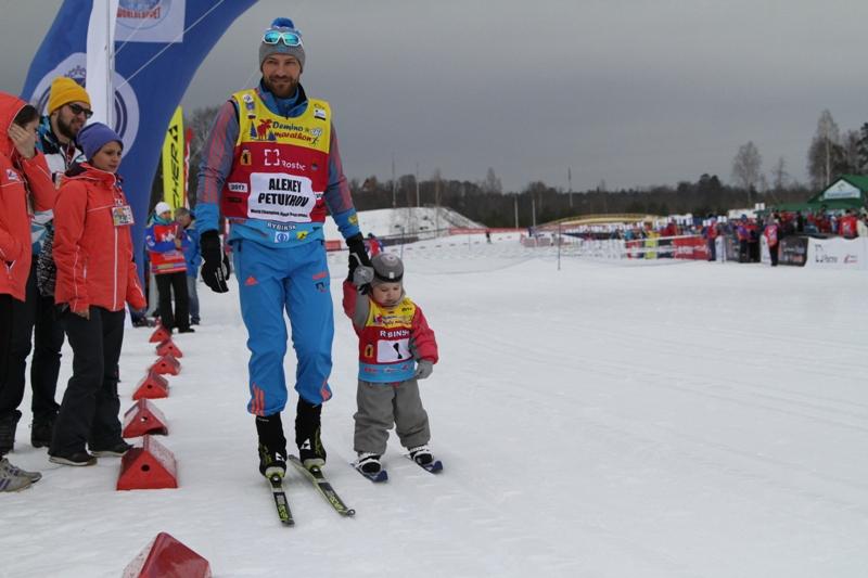 Второй день Дёминского марафона: детские старты и олимпийские призёры