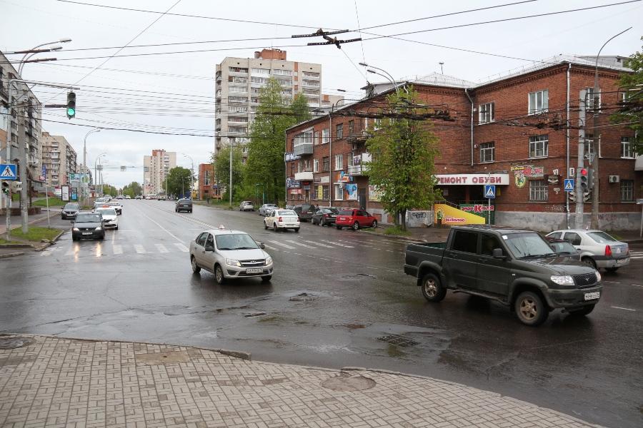 «Зелёная волна»: на Герцена оптимизируют работу светофоров