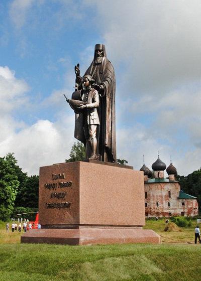 В день Ушаковского фестиваля на родине адмирала открыли памятник