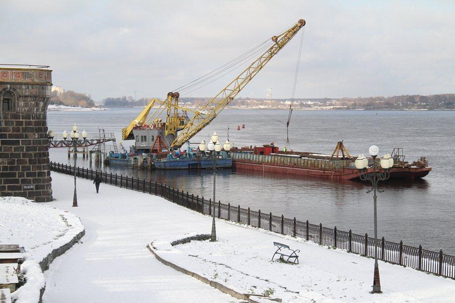 К турсезону в Рыбинске построят новый причал