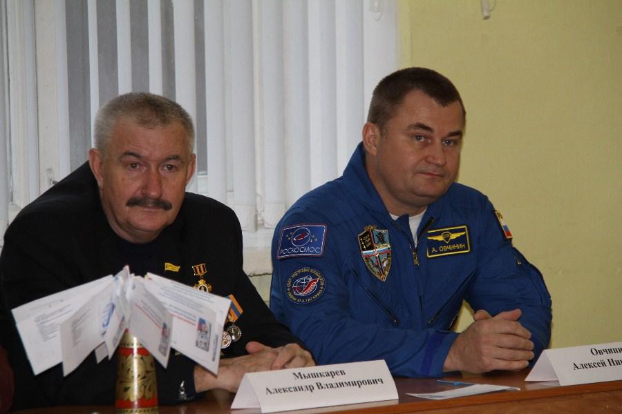 Алексей Овчинин встретился в рыбинскими школьниками