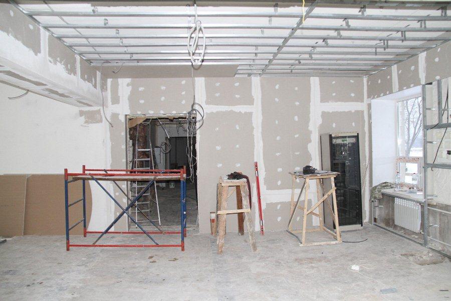 В Рыбинске на средства резервного фонда президента ремонтируют ДК «Вымпел»