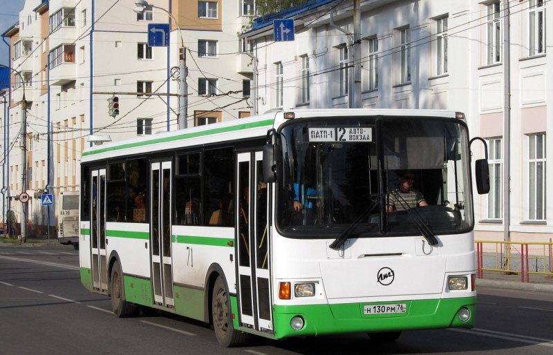 Автобус  маршрута №12