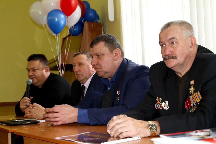 Герои России встретились  с рыбинскими школьниками