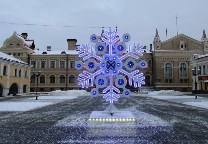 Праздник Рождества на Красной площади