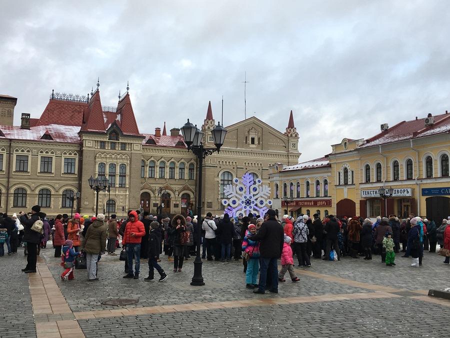 Новогодние торжества в Рыбинске посетили более 40 тысяч человек