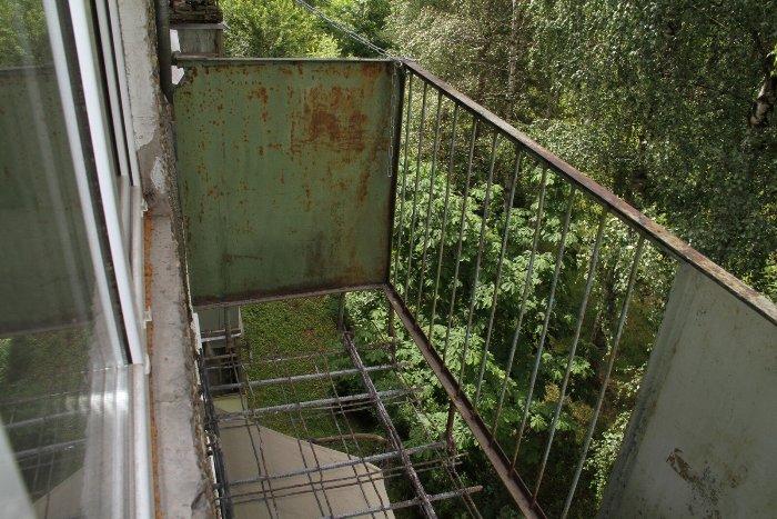 В Рыбинске по предписанию ОМЖК отремонтировали аварийный балкон