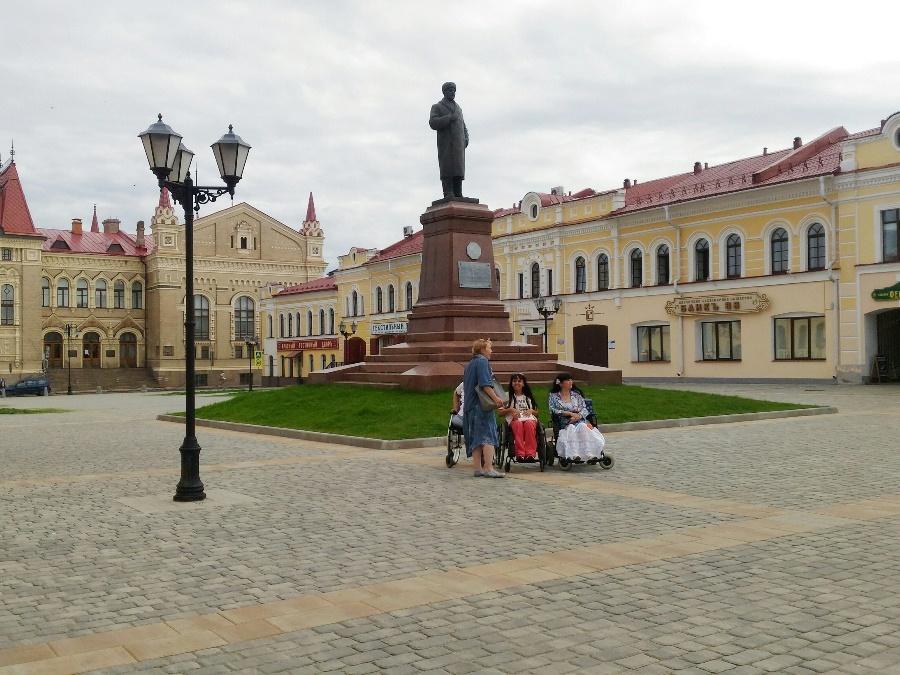В Рыбинске разработали экскурсионный маршрут для инвалидов-колясочников