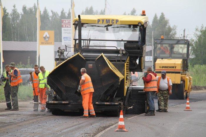 В Рыбинске ремонтируют самую загруженную дорогу