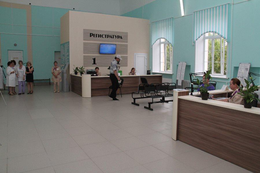 В Рыбинске открылась первая бережливая поликлиника