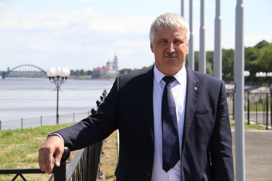 Поздравление главы городского округа город Рыбинск Д.В.Добрякова с Днем города