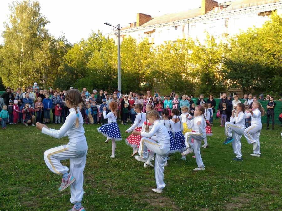 В Рыбинске отметили День микрорайона Гагаринский