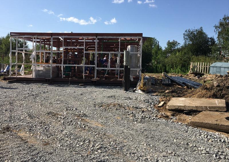 К началу отопительного сезона в Рыбинске строят новую котельную