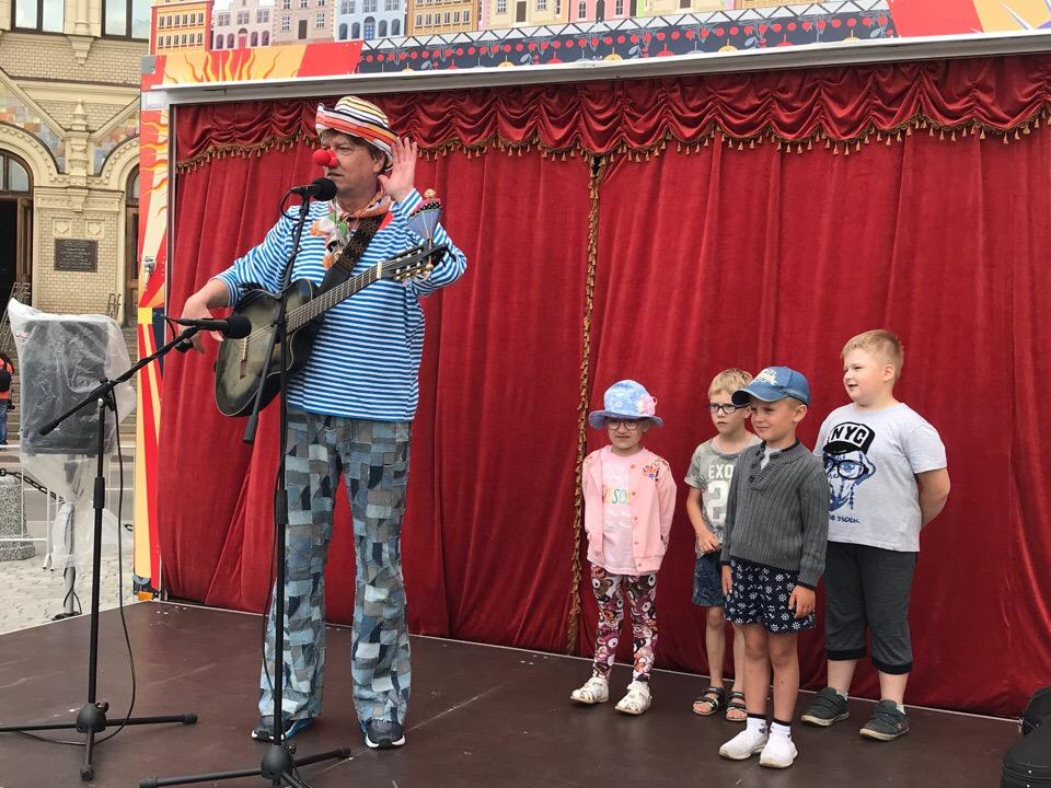 Фестиваль городского фольклора в Рыбинске