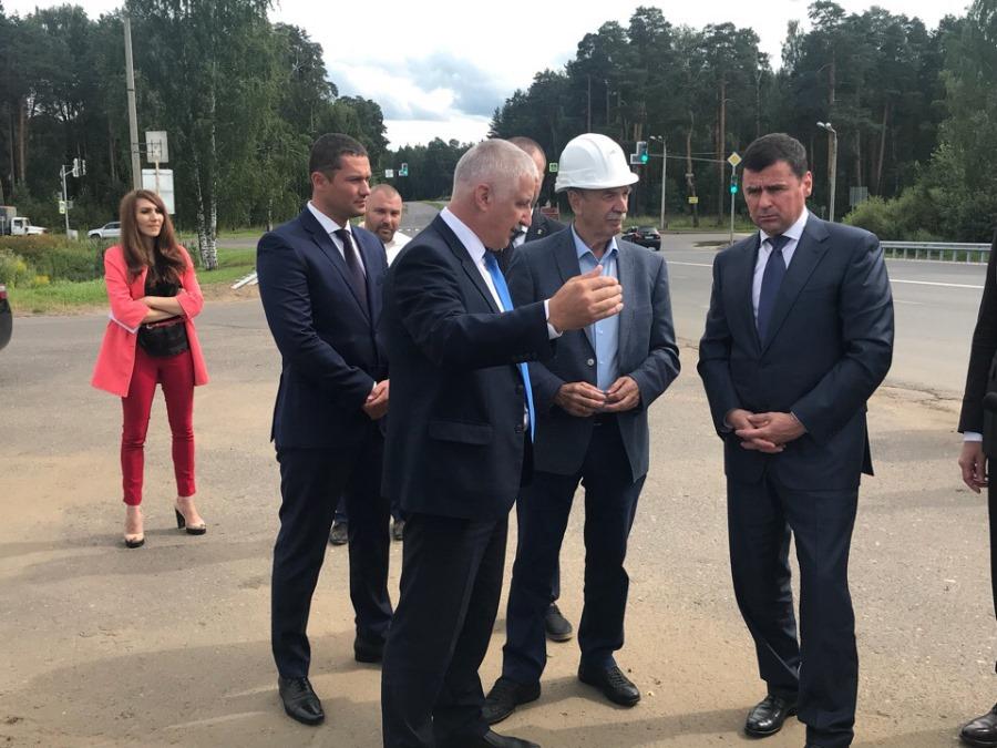 Губернатор Дмитрий Миронов посетил Рыбинск
