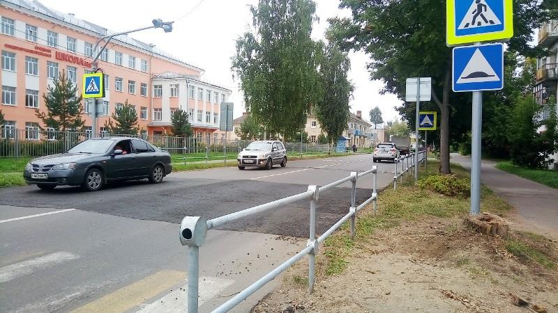 Дорога в школу №10 станет безопаснее