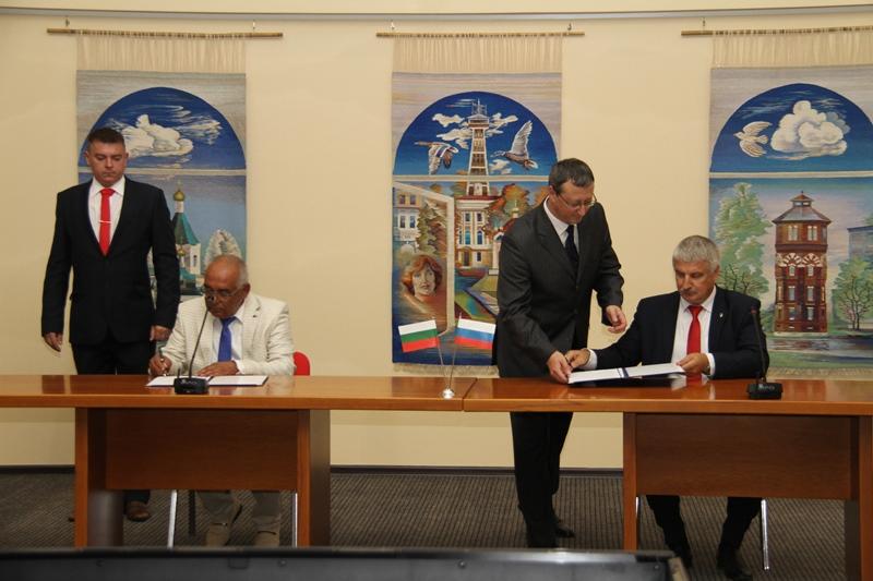 Рыбинск подписал о сотрудничестве с болгарским Карнобатом