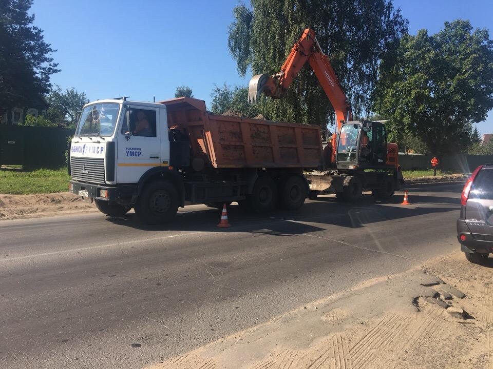 В Рыбинске ремонт дорог под ежедневным контролем
