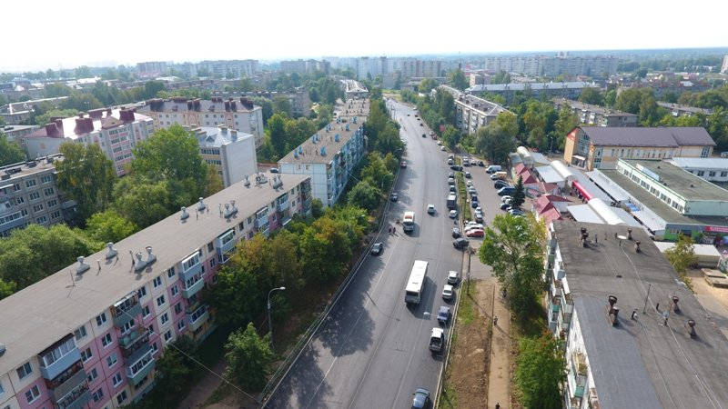 Автодорога на улице 9 Мая открыта для автотранспорта