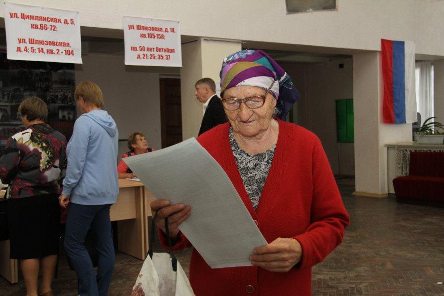 В Рыбинске на избирательные участки пришли более 26 тысяч горожан