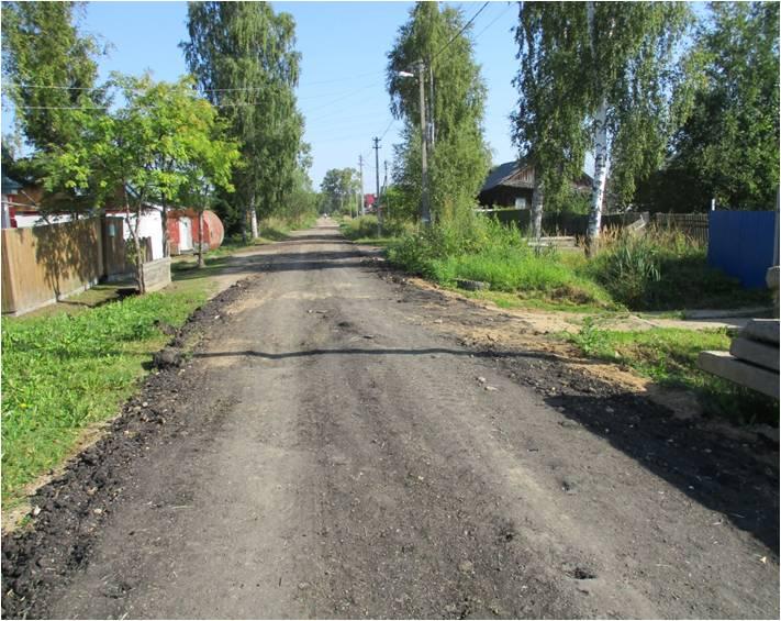 В Рыбинске асфальтовой крошкой привели в порядок 24 улицы частного сектора