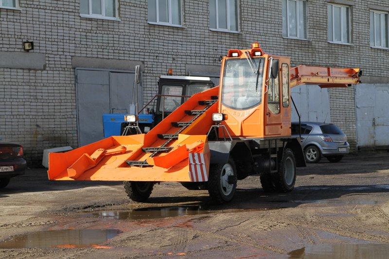 В Рыбинск поступила новая снегоуборочная машина