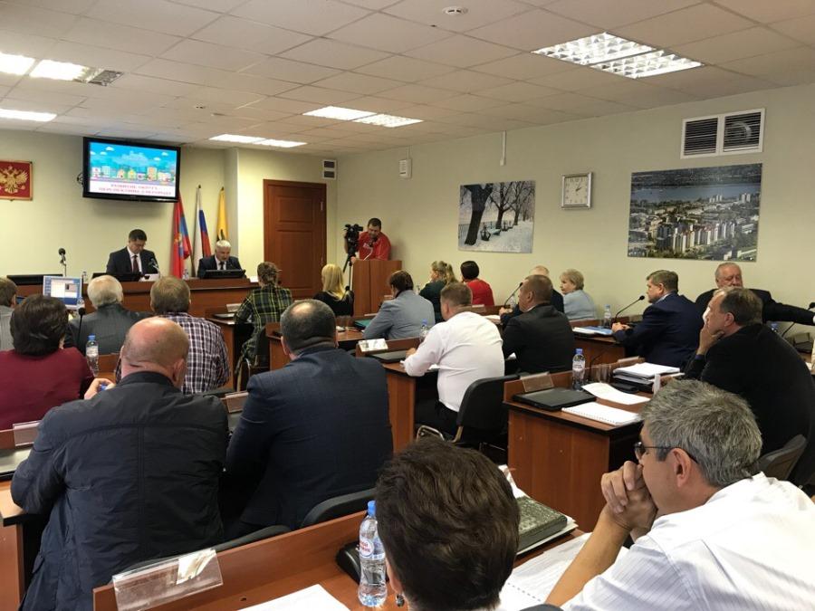 Состоялась первая встреча нового Муниципального Совета Рыбинска