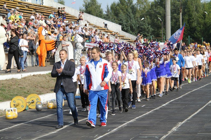 В Рыбинске состоялся парад спортивных школ