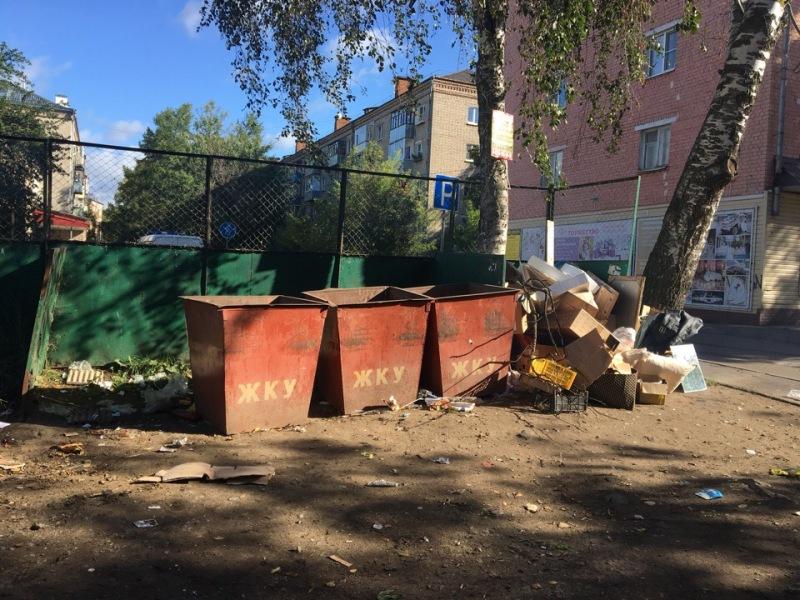 В Рыбинске продолжают переносить контейнерные площадки на территорию собственников