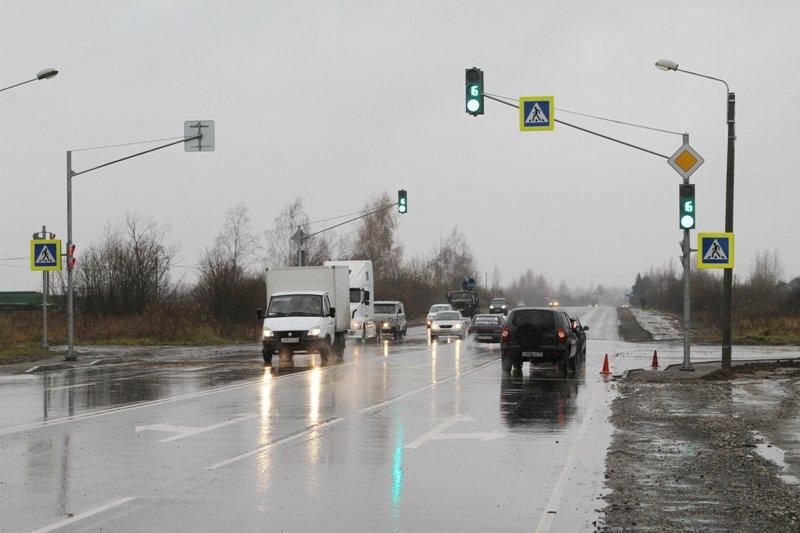 В Рыбинске установили новый электронный регулировщик