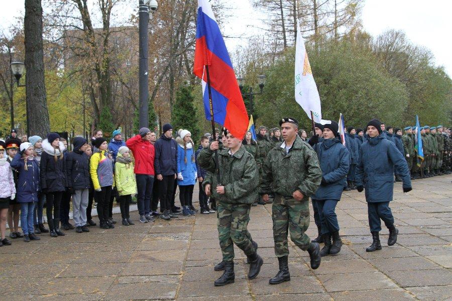 В Рыбинске проходит XVII Межрегиональный слёт военно-патриотических объединений