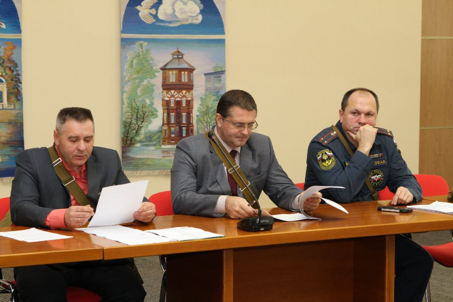 В Рыбинске проходят учения по гражданской обороне
