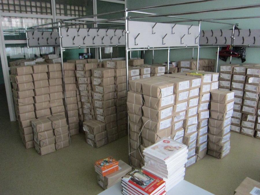Школьники Рыбинска полностью обеспечены учебниками на учебный год