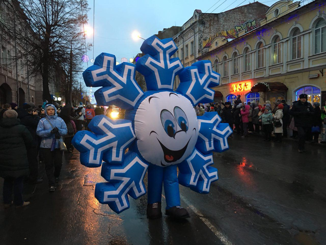 В Рыбинске выберут лучшую Снежинку
