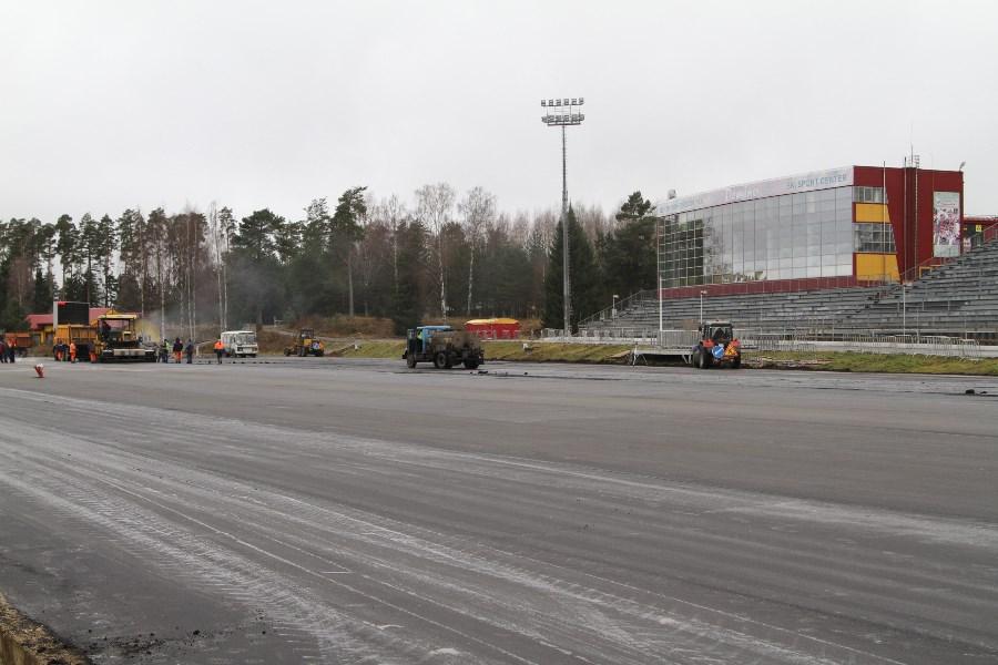 Строительство регионального центра по лыжным гонкам и биатлону находится на завершающем этапе