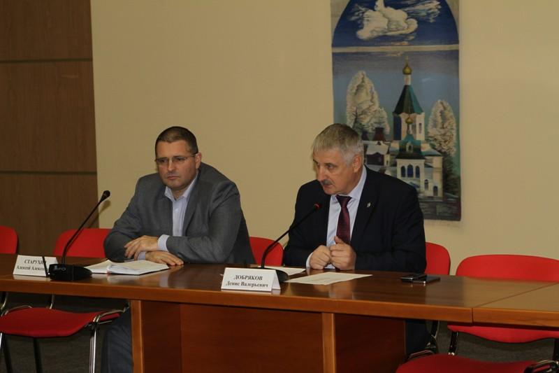 Глава Рыбинска обсудил с общественностью вопросы охраны правопорядка