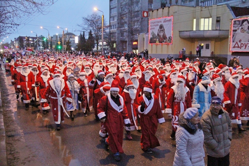 15 декабря в Рыбинске состоится «НаШествие Дедов Морозов»