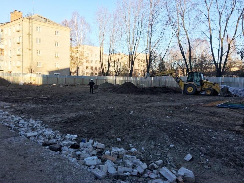 В Рыбинске приступили к строительству яслей
