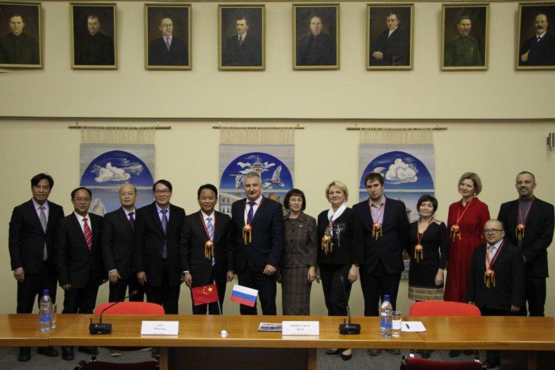 Рыбинск посетила делегация из Китайской Народной Республики